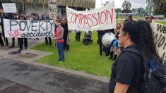 Hikoi for the homeless is underway in Tauranga