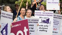 Nurses issue first strike notice for July