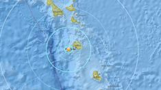 Vanuatu thumped by magnitude 6.1 earthquake