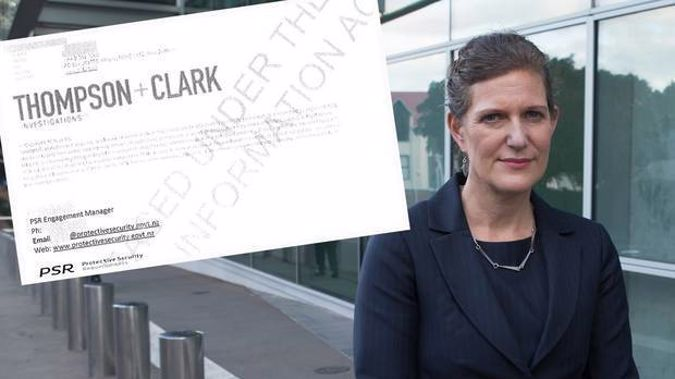 SIS director Rebecca Kitteridge has announced her agency will investigate the Thompson and Clark emails. Photo/NZ Herald.