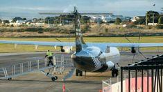 Tearful plane passengers tell of engine 'spitting fireballs'