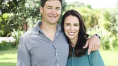 Jacinda Ardern and Clarke Gayford continue to receive good wishes from around the world. (Photo / File)