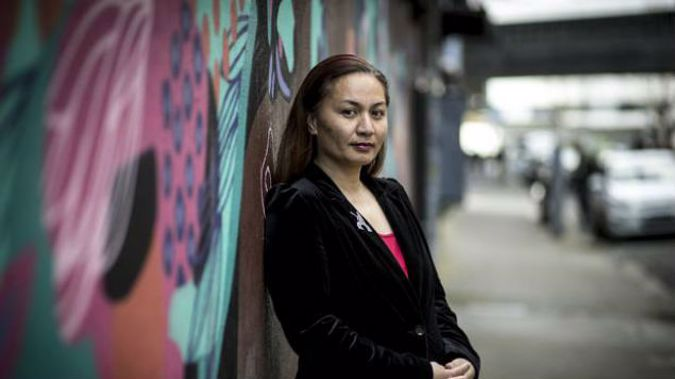 Marama Davidson has given her first full interview about the sexual abuse she endured as a girl. (Photo / NZH)