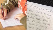 'Please look after them': Boy's heartfelt letter to education minister