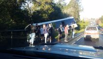 15 students involved in Auckland school bus crash