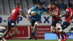 Jerome Kaino's final Blues game at Eden Park was a success. (Photo / Getty)