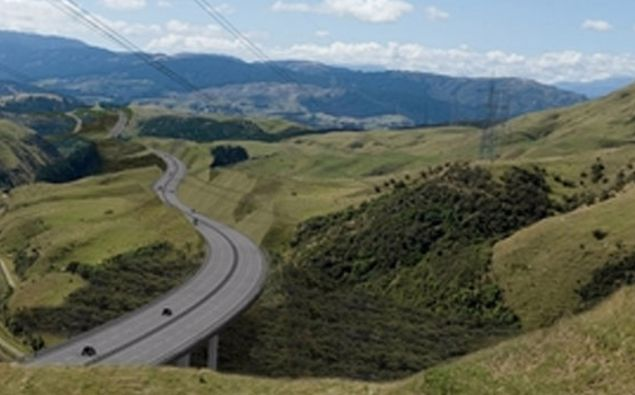The 27-kilometre, four-lane motorway is expected to open in 2020.