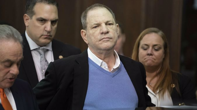 Harvey Weinstein could face life in prison if convicted. Photo \ Getty Images