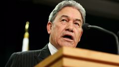 Winston Peters has challenged the Australian Government over a 17-year-old Kiwi teen's detention. Photo \ Getty Images