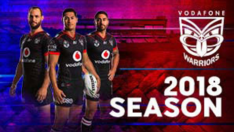Vodafone Warriors take on the Melbourne Storm