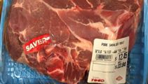 Supermarket pork recalled due to metal
