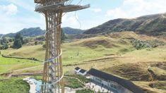 John Heskett: Proposal for 70-metre bungy jumping platform in Waitomo