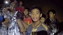 Exhausted Thai cave boys too weak for escape plans