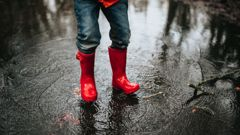 Heavy rains and winds are forecast in many areas for the start of school holidays this weekend. (Photo: Getty)