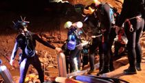 Thai rescue team drill 100 'shafts' into mountain in bid to reach 12 trapped boys