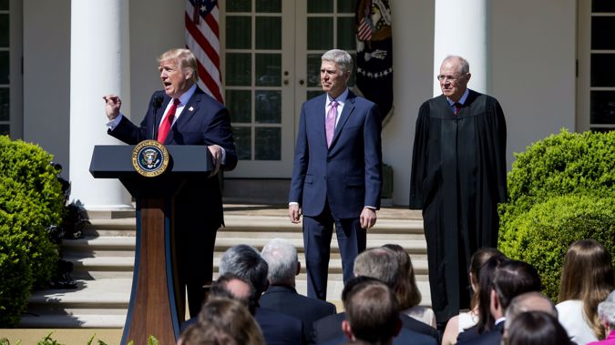 Same sex marriage and abortion rights will likely come under review with the next justice. Photo / Getty Images