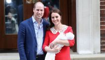 Prince Louis christened at intimate service
