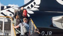 Kiwis escaping winter on Air New Zealand