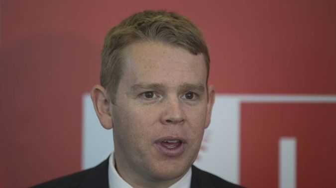 """""""The other minister who'll also be green eyed this week will be Chris Hipkins who's being whacked on two fronts."""" Photo / NZ Herald"""