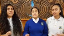 Viral schoolgirls to sing national anthem at domestic rugby final