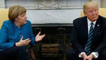President Trump steamrolling through Europe