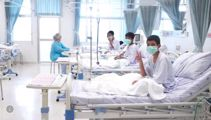 First photos of Thailand boys in hospital emerge
