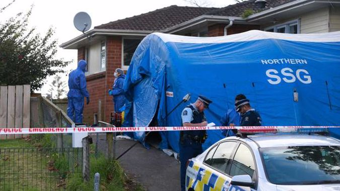Police have launched a homicide investigation following the homicide. (Photo / NZ Herald)