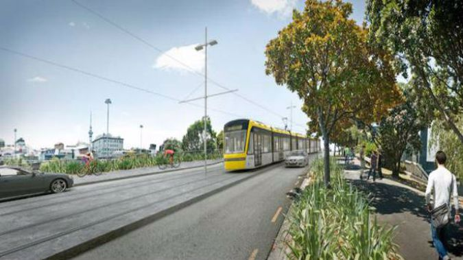 The Government has been planning a massive light rail project for Auckland. (Photo / Supplied)