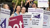 Nurses union hopes government gets the message