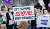 Nurses are back on the job after a 24-hour strike. Photo \ NZ Herald