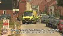 Panic as police close Salisbury street as man falls ill
