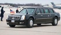 President Trump's bomb-proof limousine