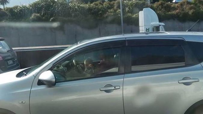 A mother has been slammed for driving with her baby on her lap during peak-hour Auckland traffic. (Photo / Ivo Zarnic)
