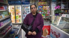 Dairy owner Gita Patel has spoken after both her and her son were badly injured in a robbery at the family's Grey Lynn business. (Photo / Brett Phibbs)