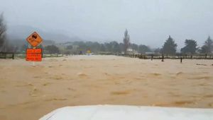Flooding in the Coromandel (Image / Alexsandra Matthews)