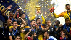 France have won the 2018 FIFA World Cup. (Photo / Getty)