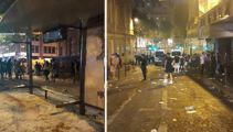 Riots break out in Paris after World Cup win