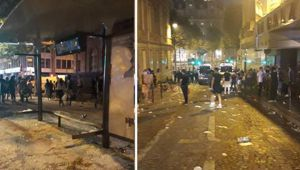 Riots have erupted in France after World Cup win. (Photo / Paul Carcenac Twitter)