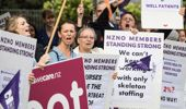 The government is continuing with its position there is no more money for nurses. Photo / NZ Herald