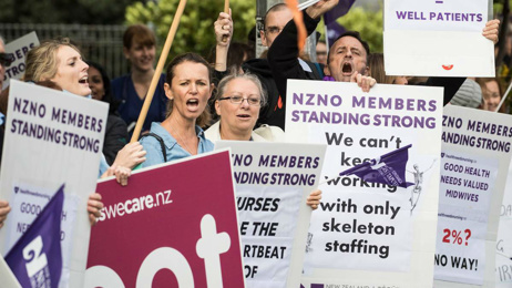 Grant Robertson: No more money for nurses