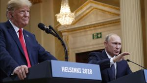 Andrew Kramer says there was one question Putin refused to answer. (Photo / AP)