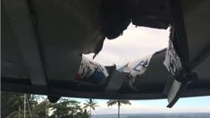 Lava bomb in Hawaii injures 12