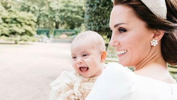 Royals release new photos to mark Prince Louis' christening