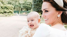 Extra special photo of Prince Louis and Kate released