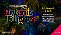 WIN A FIRST LOOK AT HOUSE OF TRAVEL BOTANIC D'LIGHTS WITH CHRIS LYNCH
