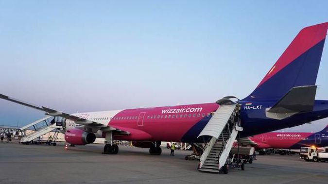 Hungarian carrier Wizz Air makes $46 a passenger in ancillary charges. Photo / Grant Bradley