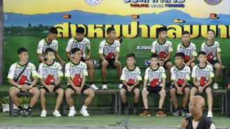 Thailand boys recount their incredible story for the first time