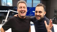 Dynamo joins Mike Hosking in studio