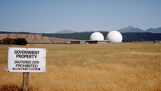 The Waihopai Valley base where the GSCB is based. (Photo / Wikimedia)