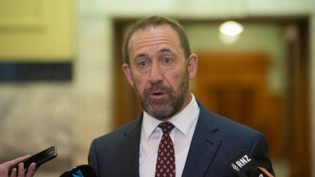 NZ Justice Minister Andrew Little has come under fire from Australian ministers for his comments on Australian deportation policy. Photo / NZ Herald